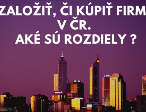 Založená, či ready made spoločnosť s ručením obmedzeným v ČR? Aké sú rozdiely?