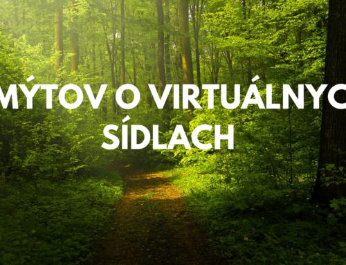 5 mýtov o virtuálnych sídlach